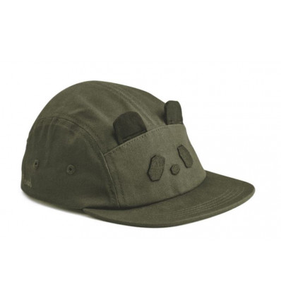 RORY CAP PANDA HUNTER GREEN 55/5-8Y 21