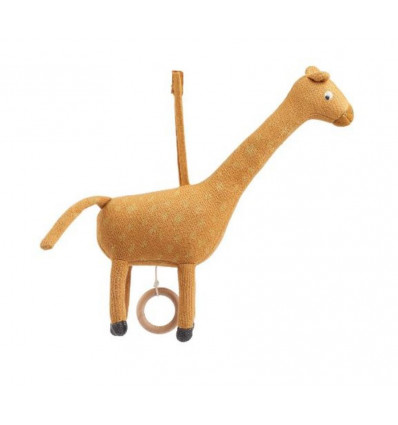 ANGELA MUSIC MOBILE GIRAFFE MUSTARD 21