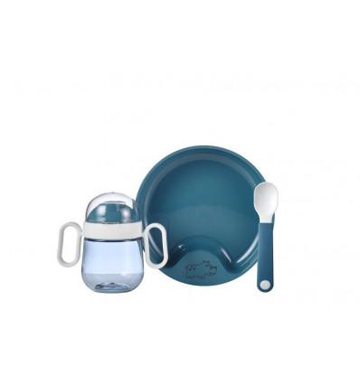 SET BABYSERVIES MIO 3-DELIG DEEP BLUE 21