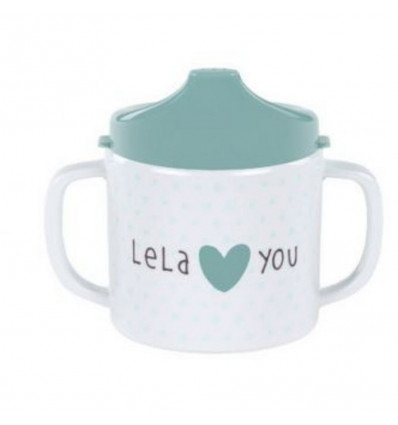 2-HANDLE CUP WITH LID 201